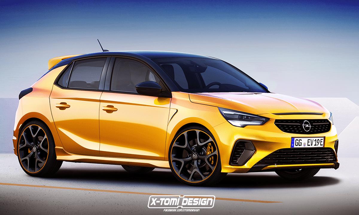 Opel Corsa OPC 2020 recreación