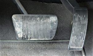 Pedal duro por un problema en los frenos