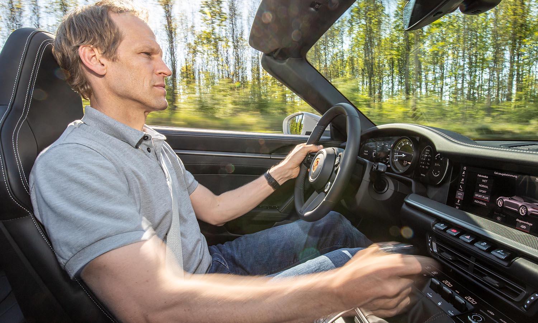 Porsche 911 cambio manual purista