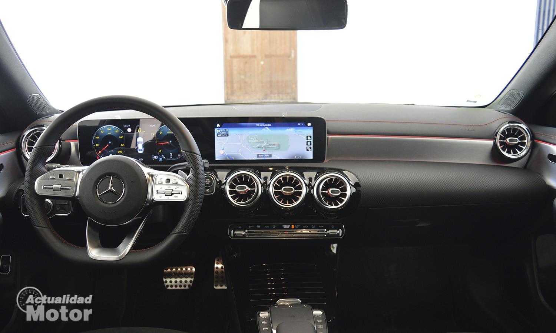 Mercedes CLA interior