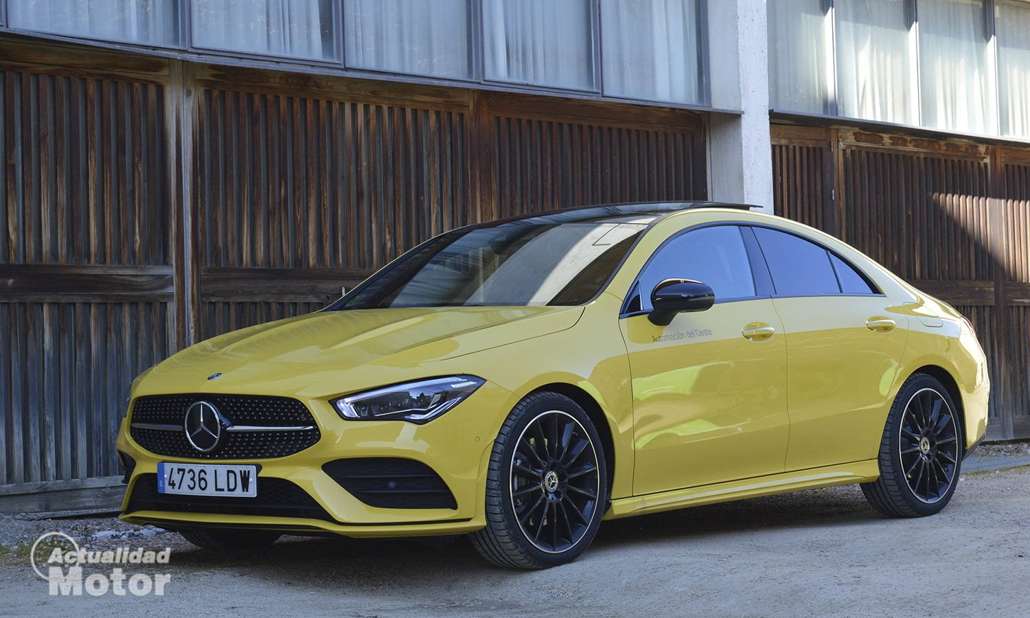 Mercedes CLA lateral