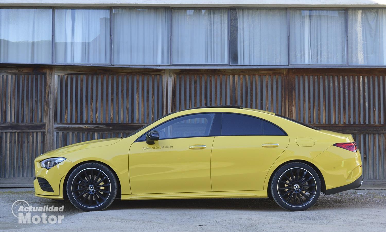 Mercedes CLA perfil