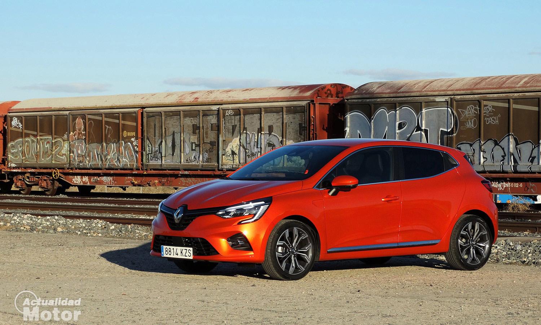 Renault Clio con cambio manual