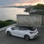 Toyota Corolla 5 puertas superior trasera
