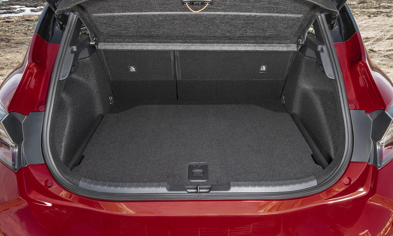 Maletero del Toyota Corolla 5 puertas