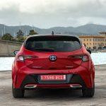 Toyota Corolla 5 puertas trasera