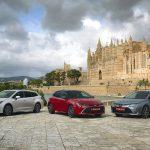 Las tres carrocerías del Toyota Corolla