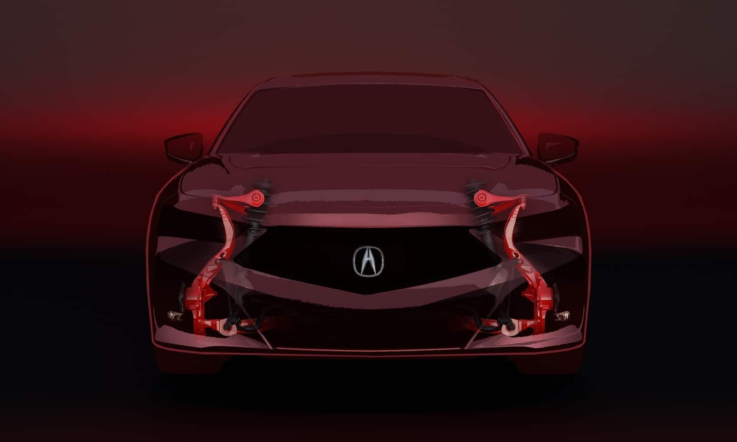 Acura TLX 2021 Chassis Teaser