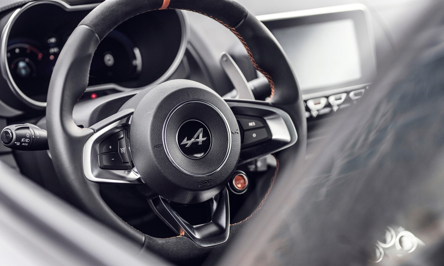 Alpine A110S 2019 inside