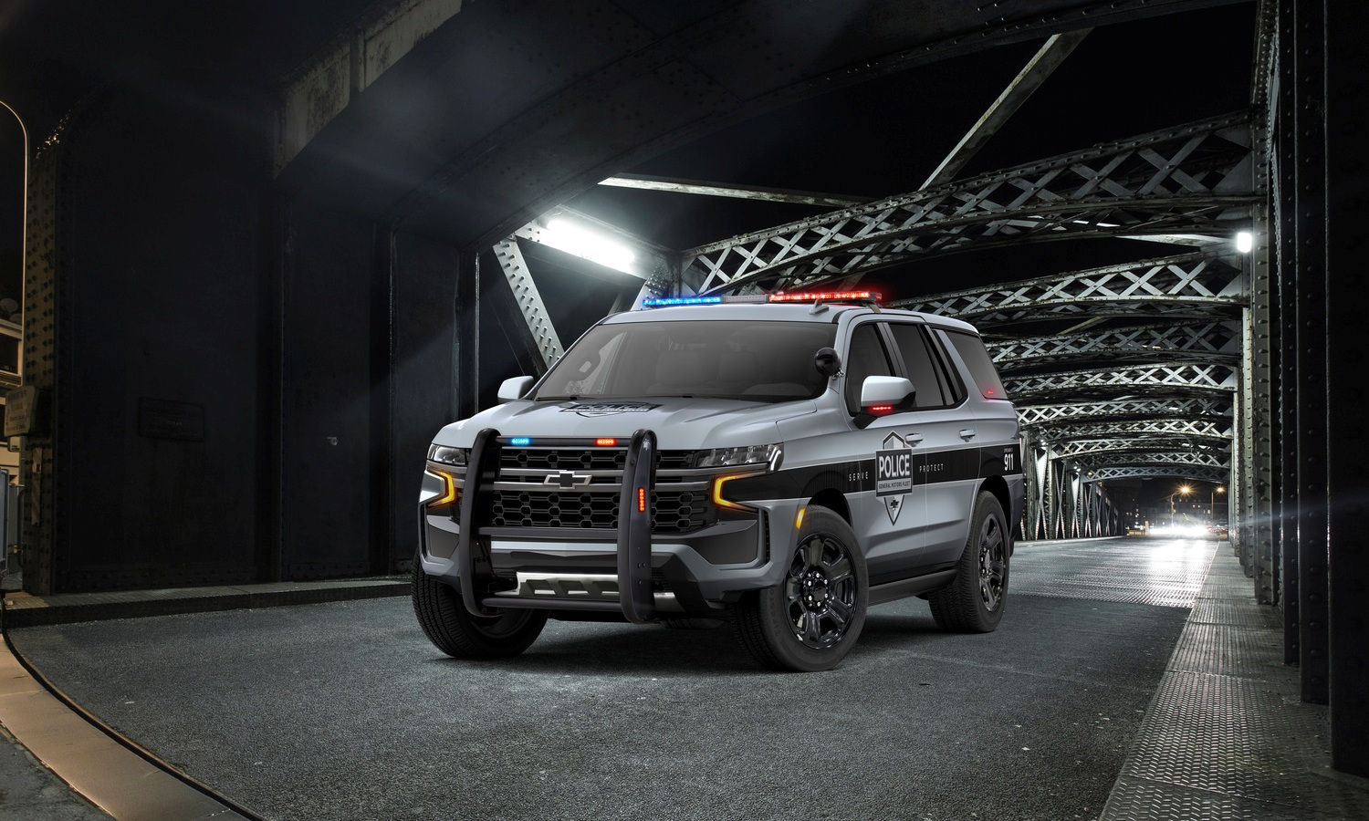 Chevrolet Tahoe Police Pursuit Vehicle (PPV) 2021