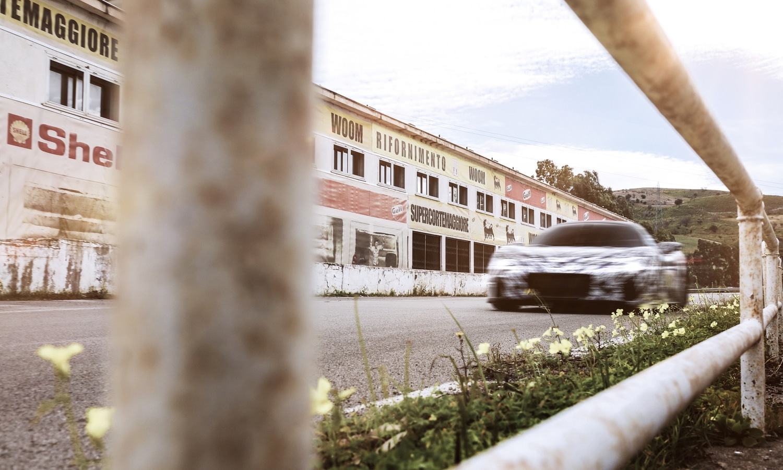 FCA Group - Maserati MC20 Prototype - Floriopoli Grandstands Sicily