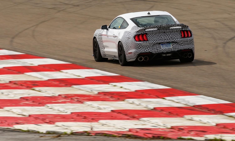 Ford Mustang Mach 1 2021 rear teaser