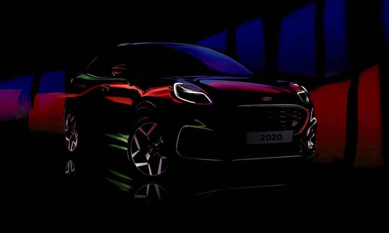 Ford Puma ST teaser