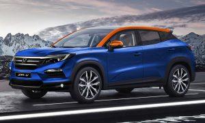 Honda ZR-V render