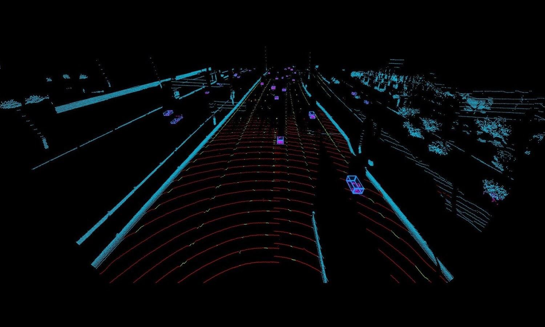 Luminar LiDAR highway perception - Volvo Cars