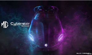 MG Cyberster Concept by SAIC Design