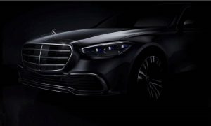 Mercedes-Benz Clase S W223 front teaser