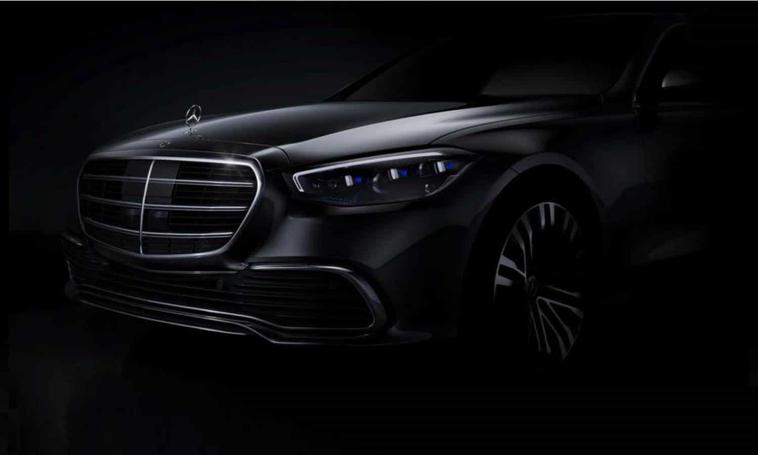Mercedes-Benz Clase S W223 front teaser