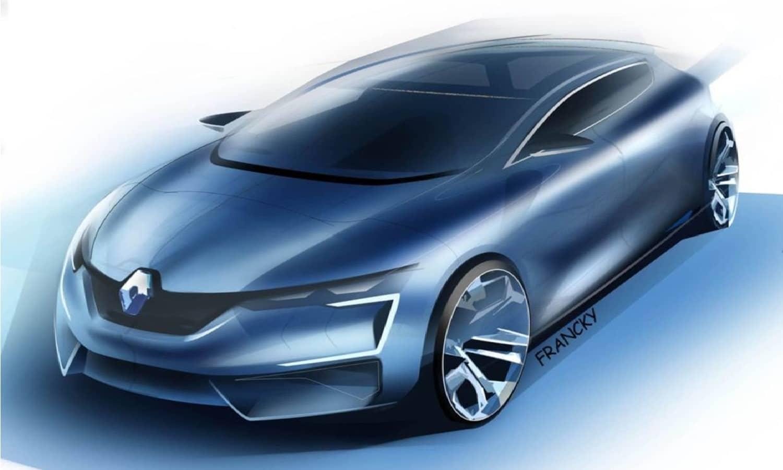 Renault Mégane render by Francky