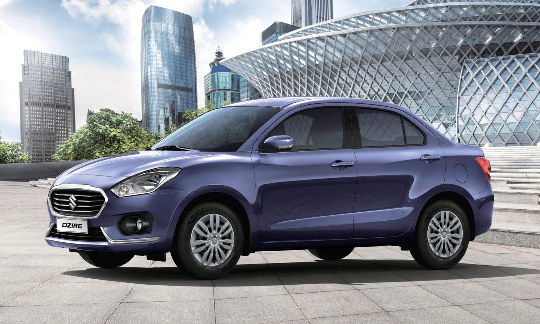 Suzuki Dzire 2020 ventas de coches en la India abril 2020