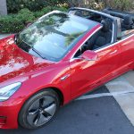 Tesla Mode 3 Convertible TD5 by Newport Convertible Engineering (NCE)