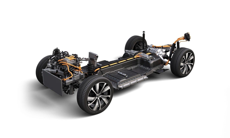 Volvo XC40 Recharge powertrain platform