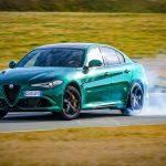 Alfa Romeo Giulia Quadrifoglio drift