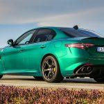 Alfa Romeo Giulia Quadrifoglio trasera