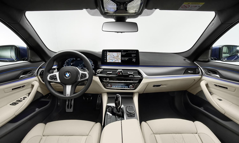 BMW Serie 5 interior