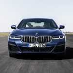 BMW Serie 5 restyling frontal