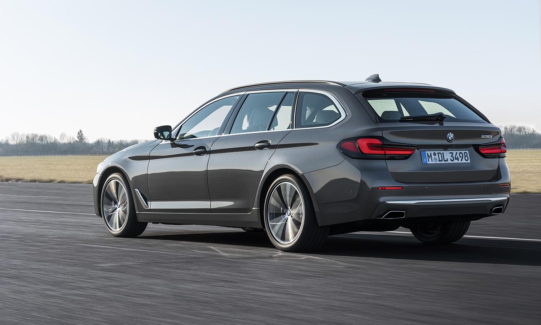 BMW Serie 5 Touring trasera