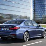 BMW Serie 5 trasera