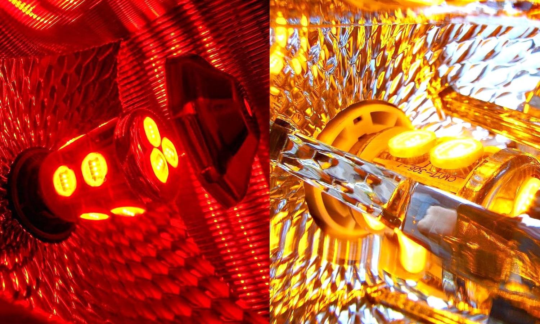 Bombillas LED de los pilotos traseros de un coche (no se funden)
