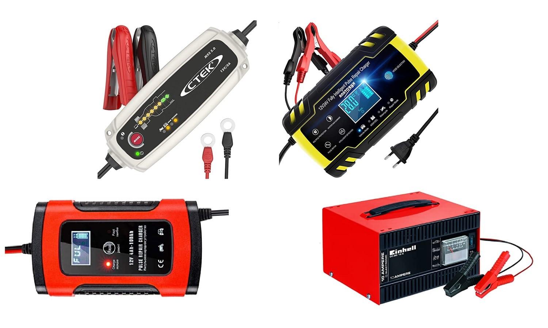 Los mejores cargadores de batería de coche