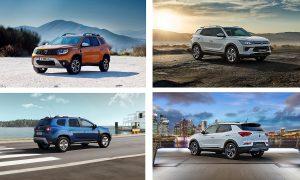 Comparativa Dacia Duster Vs SsangYong Korando
