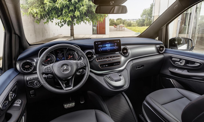 Mercedes EQV interior