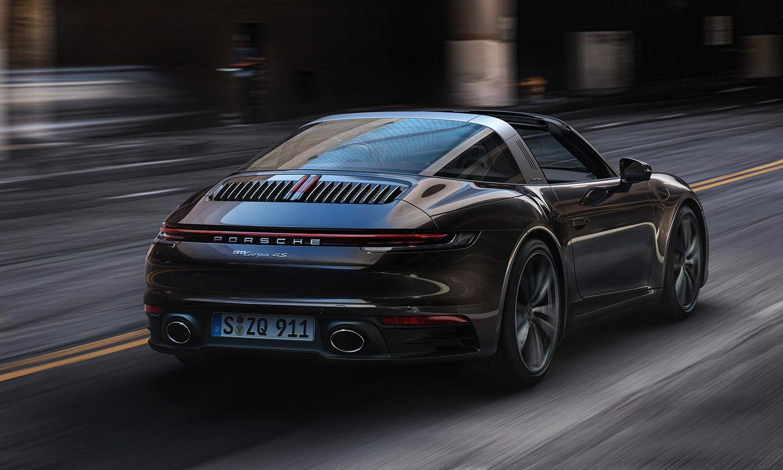Porsche 911 Targa trasera