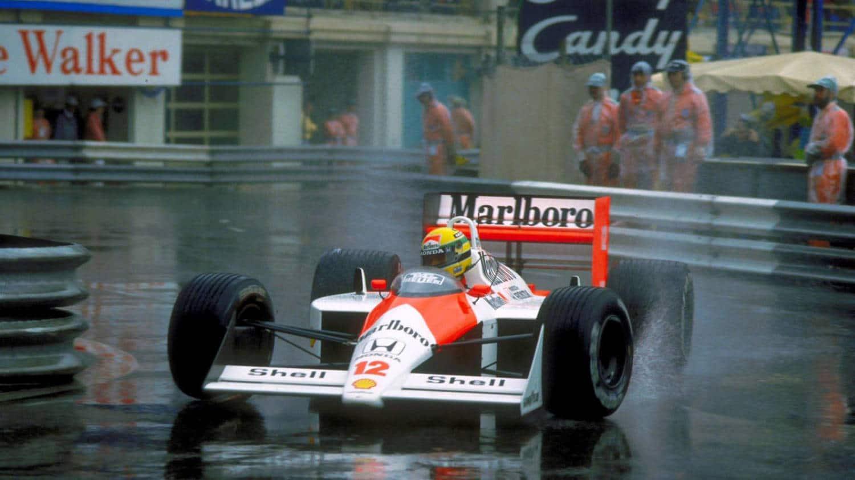Senna, McLaren en Mónaco