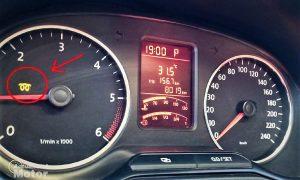 Testigo de bujías precalentamiento de Volkswagen
