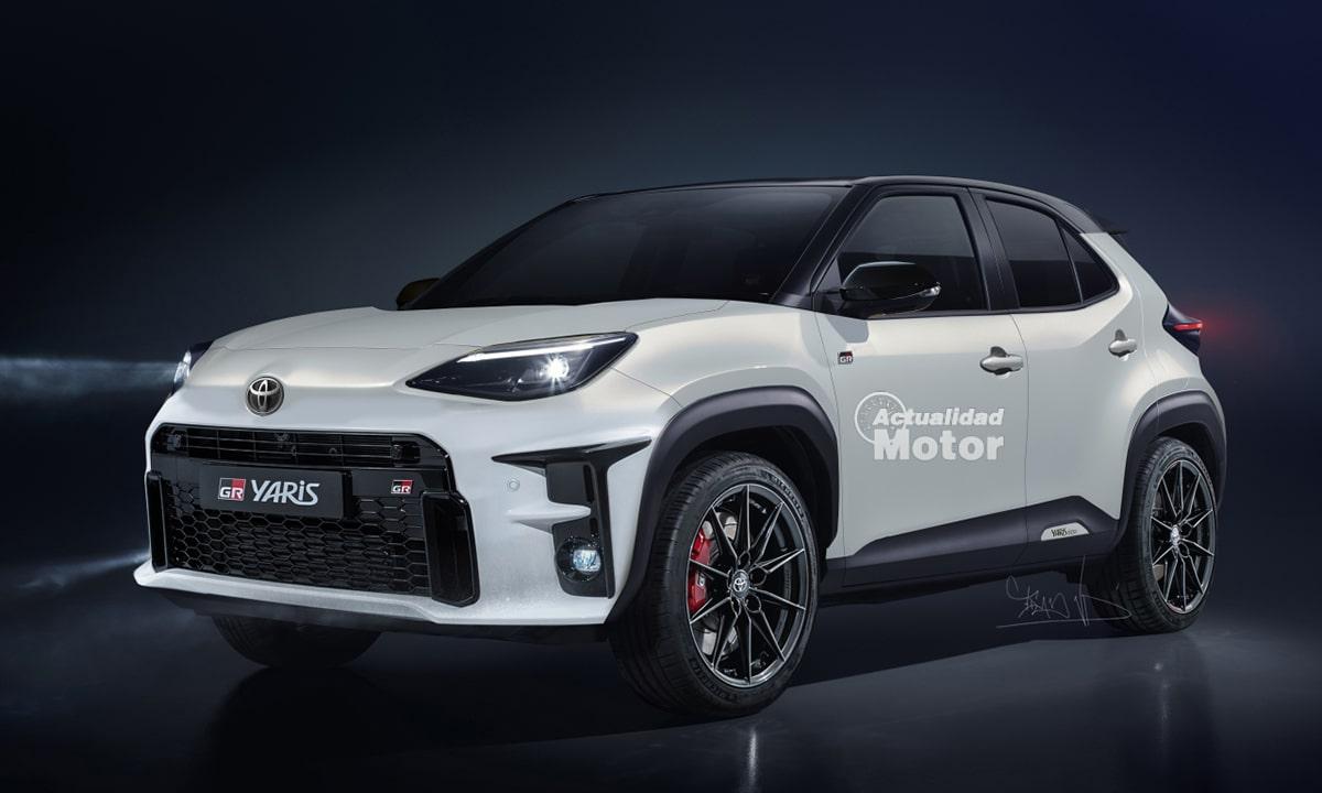 Toyota GR Yaris Cross render