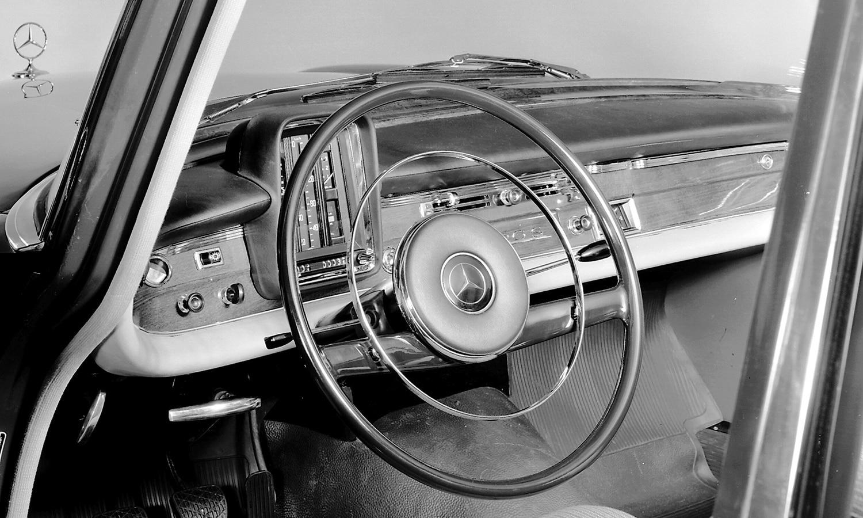 Volante de Mercedes clásico