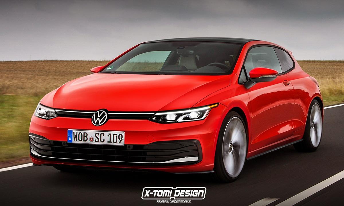 Volkswagen Scirocco render