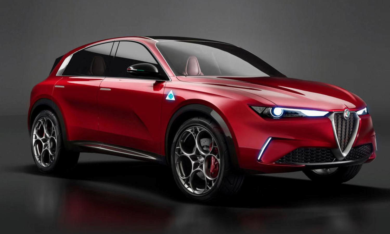 Alfa Romeo SUV EV Concept render front