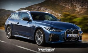 BMW Serie 4 Shooting Brake rendering by X-Tomi Design