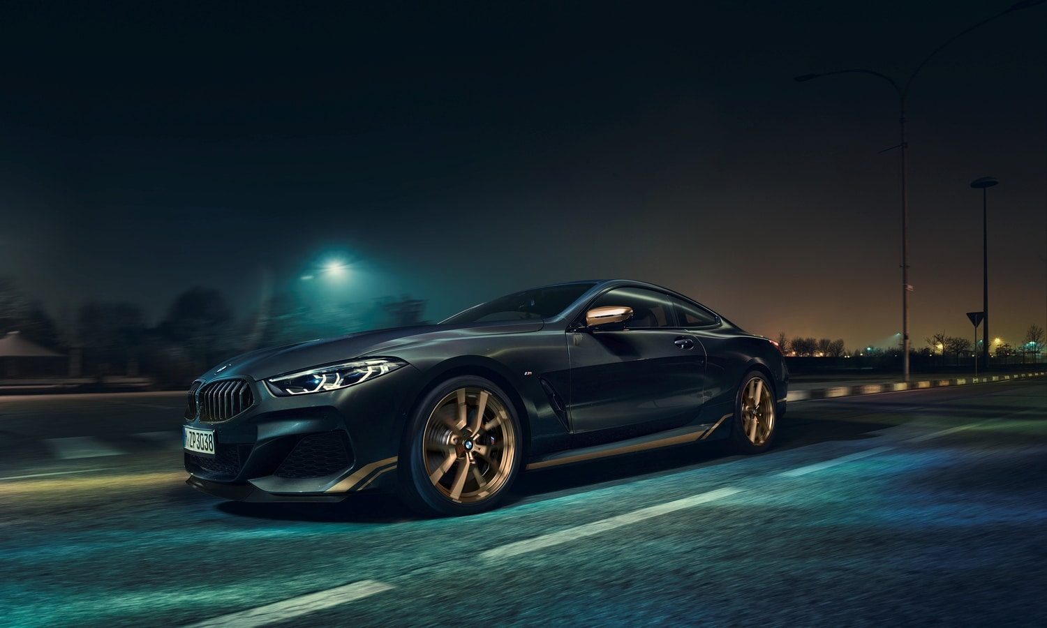 BMW Serie 8 Golden Thunder Edition 2020