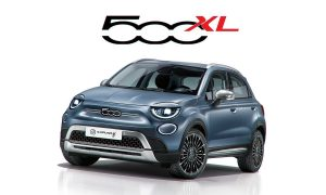 Fiat 500XL rendering by Avarvarii front