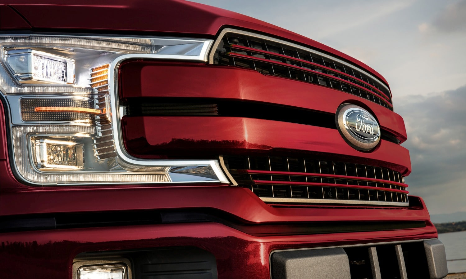 Ford F150 2020 front