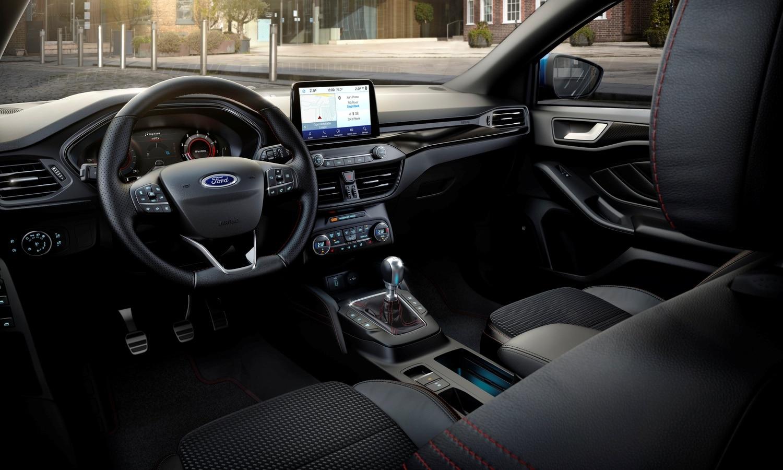 Ford Focus Mild-Hybrid Digital Cluster 2020