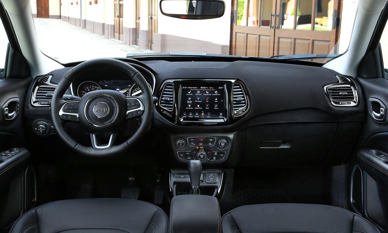 Jeep Compass salpicadero