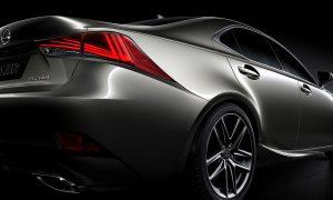 Lexus IS 200t 2016 rear